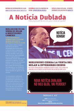 Nova Notícia Dublada no meu blog #notícias #espanhol #noticia #español #audio #nativo #castelhano http://aulasdeespanholonline.com.br/blog/noticia-dublada-la-venta-del-milan-para-inversores-chinos/