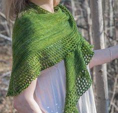 Alchemillia by Kelene Kinnersly Knit Lace Shawl Kit