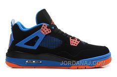 Style Ancien Orange Et Air Jordans Noir