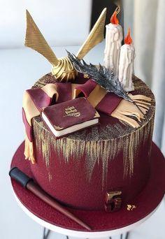 Harry Potter Desserts, Harry Potter Treats, Gateau Harry Potter, Cumpleaños Harry Potter, Harry Potter Birthday Cake, Harry Potter Drawings, Harry Potter Wedding, Harry Potter Tumblr, Harry Potter Pictures