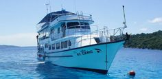 MV Camic is among the most highly-regarded and popular scuba diving liveaboard diving boats which sails around the Similan Islands and some of the northern dive sites. Unlike most other Thai liveaboard diving boats at Thailand's best diving archipelago, MV Camic stays out at sea, sailing around the best dive sites on any given day.
