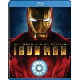 Iron Man (Two-Disc Ultimate Edition + BD Live) [Blu-ray] (Blu-ray)By Robert Downey Jr.