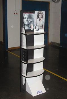 Cosmetische display uit Reboard