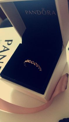 PANDORA rose gold love ring #pandora #love #ring