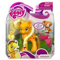 My Little Pony Single Wave 1 Applejack Brushable Pony