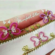 This post was discovered by Dö Hairstyle Trends, Tatting Patterns Free, Crafts To Make, Diy Crafts, Piercings, Moda Emo, Hair Pins, Needlework, Free Pattern