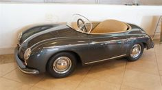 Selling for $10,350, this vintage Porsche 356 speedster convertible isn't a pedal car, but...