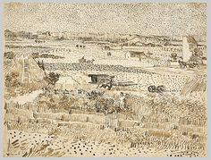 Vincent Van Gogh, Harvest in Provence,1888