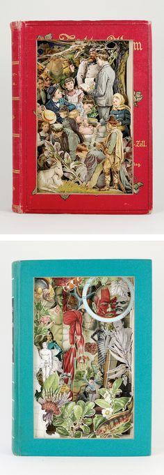 Book Sculptures by Alexander Korzer-Robinson
