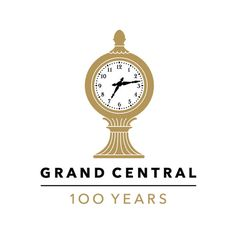 grand central centennial logo | by pentagram