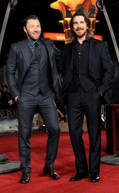 Two loves. One photo. Joel Edgerton & Christian Bale