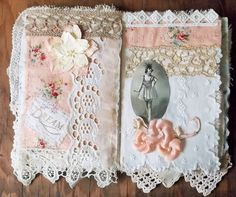 Ballerina Fabric Collage Book, Pages 4&5 | The Rustic Victorian  Flickr - Photo Sharing!