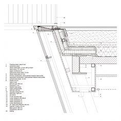 Detalle constructivo. Munkegaard School por Dorte Mandrup Arkitekter. Imagen © cortesía de Dorte Mandrup Arkitekter.