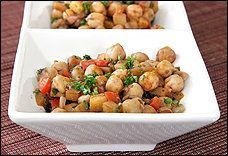 Moroccan Chickpeas With Apples, #Apples, #Chickpeas, #Moroccan