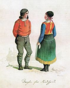 Frich Dragter fra Nordfjord - Nordfjordbunad - Wikipedia