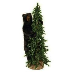 Natural looking alpine tree features a soft  polyester fiber filled...