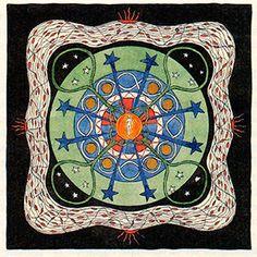 Mandala d'un élève de Jung