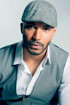 This luscious sexy MAN is Jamaican-Italian heartthrob Actor Tyler Lepley