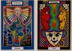 Chalice Tarot Cards - Temperance & The Chariot