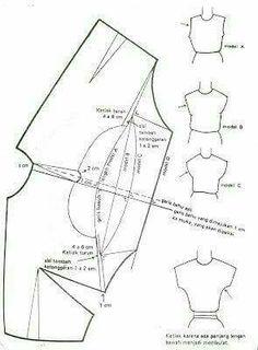 Sewing Basics, Sewing Hacks, Sewing Projects, Basic Sewing, Sewing Tips, Dress Patterns, Sewing Patterns, Pattern Dress, Pola Lengan