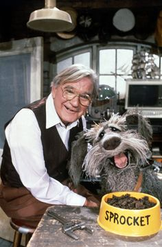 Doc and Sprocket from Fraggle Rock ~ Rest in Peace, Gerry Parkes.