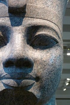This Colossal Granite Head of Amenhotep III may have inspired the poem Ozymandias Ancient Art, Ancient Egypt, Ancient History, Easter Island Statues, Kemet Egypt, Amenhotep Iii, Arte Tribal, Art Premier, Art Sculpture