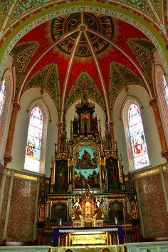 Photo: The main alter inside St. Adalbert's. Philadelphia, Pa.