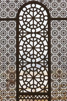 Premium Photographic Print: Qatar, Doha, Abdul Wahhab Mosque, the State Mosque of Qatar, Window Detail by Walter Bibikow : Arabesque, Marrakech, Big Blank Wall, Window Detail, Islamic Art Pattern, Most Beautiful Wallpaper, Qatar Doha, Home And Deco, Home Improvement Projects