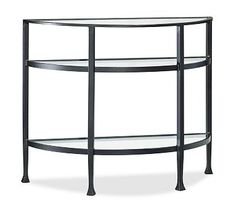 Tanner Demilune Console Table #potterybarn
