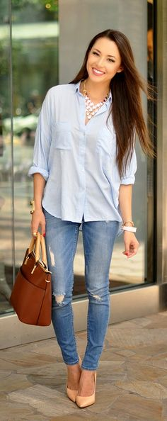 Everyday New Fashion: Clean And Crisp by Hapa Time