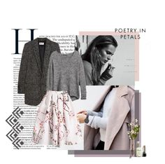 """#76"" by analeighkmacken ❤ liked on Polyvore featuring Yves Saint Laurent and H&M"
