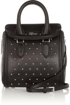 mini studded leather bag