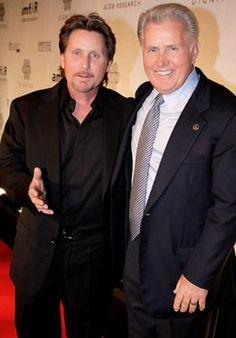 Emilio Estevez and Martin Sheen.  Yes, both of them.  lol