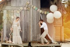 Beautiful Boho Wedding Dresses from BHLDN #wedding