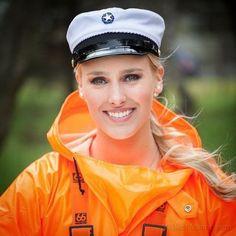 Pvc Raincoat, Plastic Raincoat, Rain Gear, Pvc Vinyl, Orange, Yellow, Cosplay, Catsuit, Captain Hat