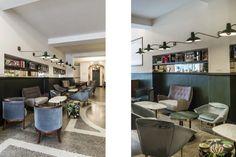 - Restaurant and Bar. Contemporary Architecture, Rome, Restaurant, Bar, Interior, Design, Indoor, Diner Restaurant, Modernism