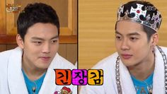 Jackson challenges Yeo Jin Goo on who is the tougher man on 'Happy Together' | http://www.allkpop.com/article/2015/01/jackson-challenges-yeo-jin-goo-on-who-is-the-tougher-man-on-happy-together