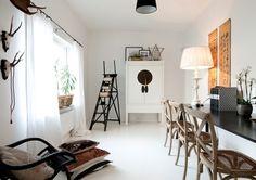 Stockholm Vitt - Interior Design: Lovely Asian Danish Mix