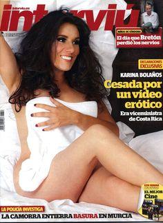 España | Sociedad; Sexy: Karina Bolaños, la antecesora de Olvido Hormigos, desnuda en 'Interviú' vía @cerestv