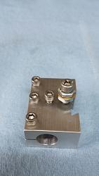 """Unimat Lathe 0.5"""" Boring Bar Holder machined from 6061-T6 aluminum."""