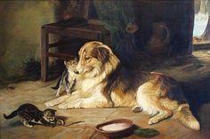 Копия картины Walter Hunt, автор Andrey. Артклуб Gallerix