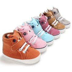 Best Offer of 2019 Brand New Newborn Baby Boy Girl Soft Sole Crib Shoes Warm Boots Anti-slip Sneaker PU Breathable Solid First Walkers Offer. Toddler Sneakers, Baby Sneakers, Toddler Shoes, Infant Toddler, Toddler Girls, Baby Boy Shoes, Crib Shoes, Girls Shoes, Designer Baby Shoes