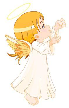 Cute Little Angel Large Size PNG Clipart