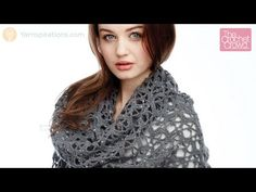 Shine Like Diamonds Shawl + Tutorial - The Crochet Crowd - free pattern - comes with video as well and written instructions.