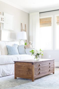 Summer Home Tour | Modern Farmhouse Living & Dining Room