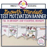 Growth Mindset Test Prep Motivation Banners