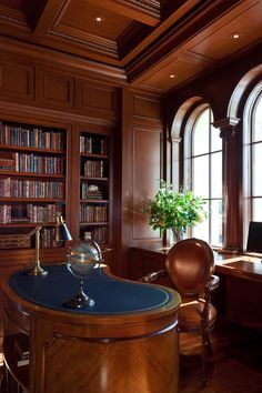 Cherry Wood Library