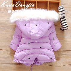 00712988f55 Детские куртки осень-зима из Китая    Новые зимние пальто младенца 0-1  ребенка толщиной хлопка мягкий куртка для девочек у новорожденных детей 2-3  года и ...