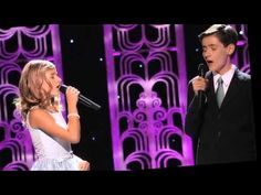 Jackie & Jacob Evancho I See The Light. They both have incredible voices and it's so cute. Chill Out Music, Sound Of Music, Music Is Life, Pop Music, Christian Christmas Music, Christian Songs, Jackie Evancho, Sing To The Lord, Violin Music