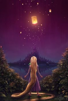 """The Art Of Animation.. *And at last, I see the light. And it's like the fog has been lifted"""" - Tangled :)."""